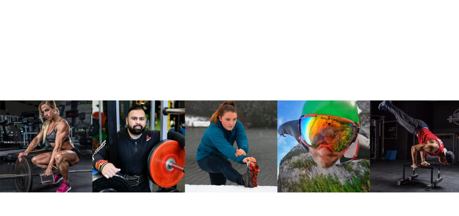 Meet our sponsored athletes