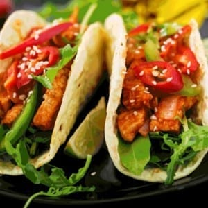 Chili Chicken Tacos