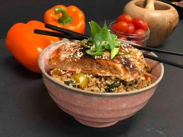 Foodie Fit - Salmon Bowl